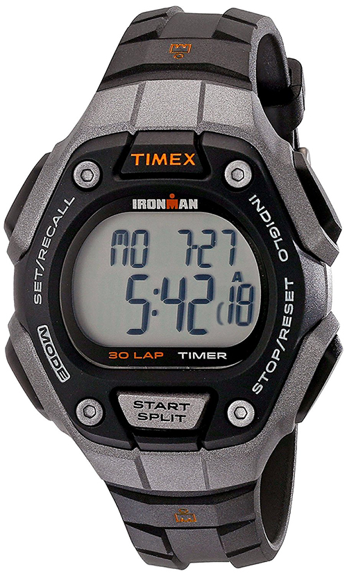 b2e75b0538b2 Timex Women s Ironman Classic 30 Lap Digital 100m Black Resin Watch ...